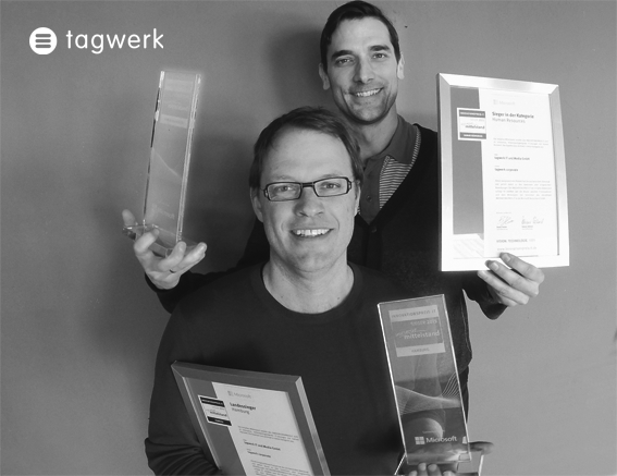 it innovation, Innovationspreis, tagwerk